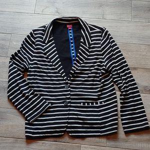 Cotton merona striped blazer